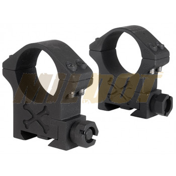 Anillas TALLEY Tactical 30mm carril Weaver - Altas