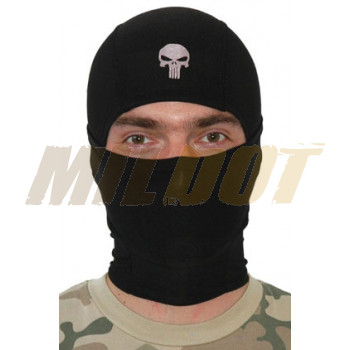 Balaclava Punisher negro