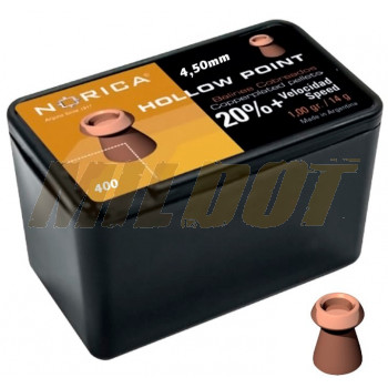 Balines NORICA Hollow Point 4.5 mm