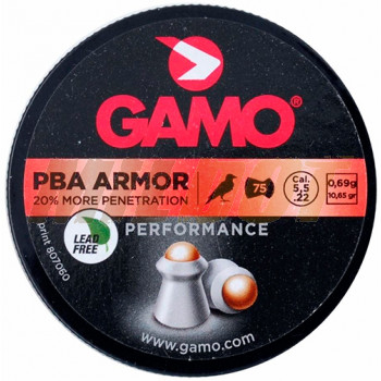 Balines GAMO PBA Armor calibre 5.5 mm