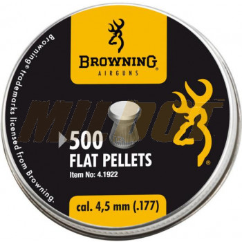 Balines BROWNING Flat 4.5 mm