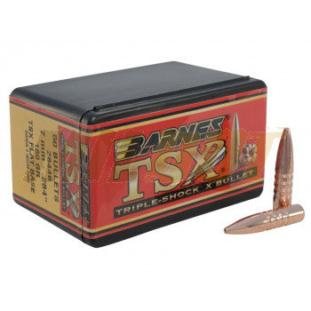 Puntas BARNES TSX Calibre 7mm - .284 de 160 Grains