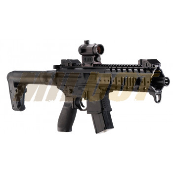 Carabina SIG SAUER MPX ASP Red Dot CO2 4.5mm Black
