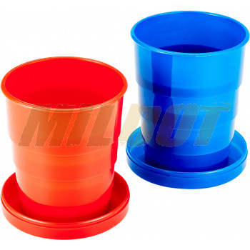 Set de 2 vasos plegables COGHLANS 133 ml