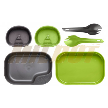 Conjunto de platos y cubiertos WILDO® Camp-A-Box