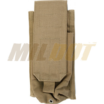 Funda porta 2 cargadores AK 47 BLACKHAWK con Speed Clips - coyote