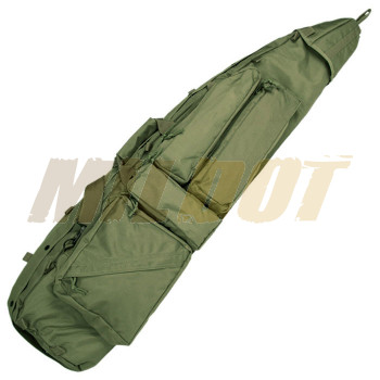 Funda Drag Bag para rifle MILTEC verde OD