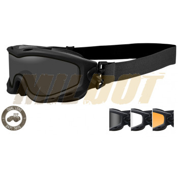 Gafas WILEY X Spear 3 Lentes Modelo DUAL