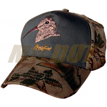 Gorra Natural Camo con bordado de Becada