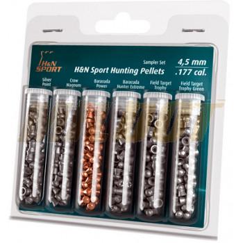 Kit Balines H&N 4.5 mm