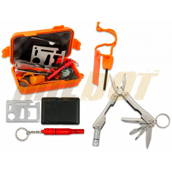 Kit de Emergencia Outdoor BARBARIC