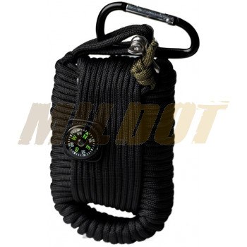 Llavero Paracord Survival Kit MILTEC