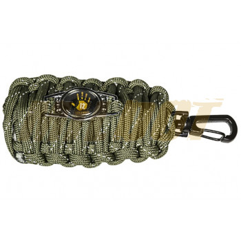 Llavero Paracord de supervivencia Fish & Fire kit