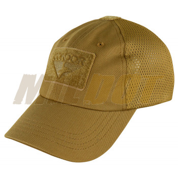 Gorra con rejilla CONDOR Mesh Tactical Cap Coyote Brown