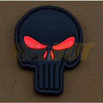 Parche de goma 3D Punisher