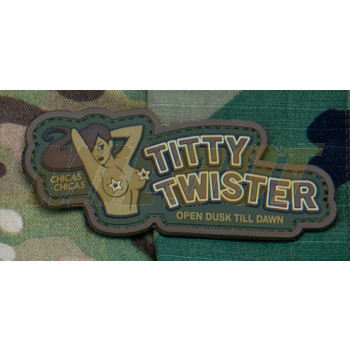 Parche de goma 3D Titty Twister MultiCam