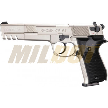 Pistola Walther CP88 Competition Nickel CO2 4.5mm