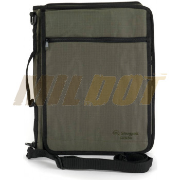 Porta documentos SNUGPAK Grab A4 verde