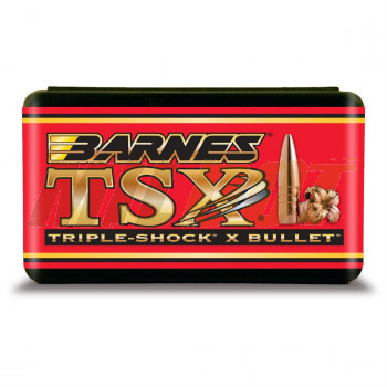 Puntas BARNES TSX Calibre 6.5mm - 264 de 120 Grains