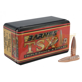 Puntas BARNES TSX Calibre 7mm - .284 de 140 Grains