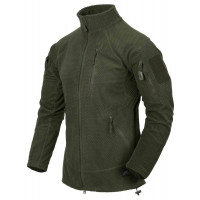Forro polar HELIKON-TEX Alpha Tactical verde