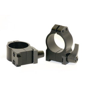 "Anillas WARNE 1"" desmontables para rifles BRNO con carril de 19mm - Medias"