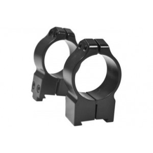 Anillas WARNE 30mm fijas para rifles BRNO con carril de 19mm - Altas