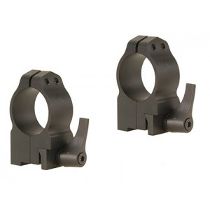 "Anillas WARNE 1"" desmontables para rifles BRNO con carril de 16mm - Altas"