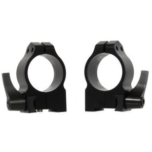 Anillas WARNE 30mm desmontables para rifles BRNO con carril de 16mm - Medias