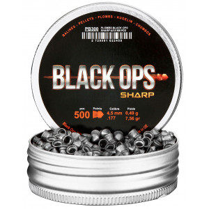 Balines BLACK OPS Sharp 4.5 mm