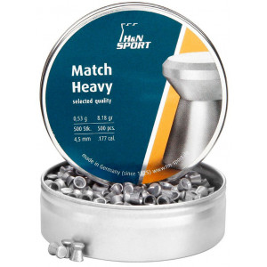 Balines H&N Match Heavy 4.5 mm