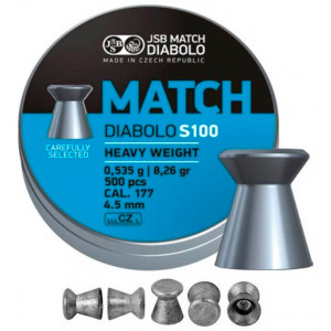 Balines JSB Match Diabolo Heavy 4.5 mm