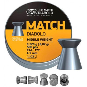 Balines JSB Match Diabolo Middle 4.5 mm