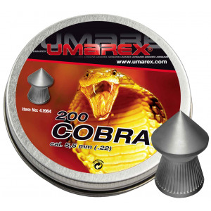 200 balines UMAREX Cobra 5.5 mm