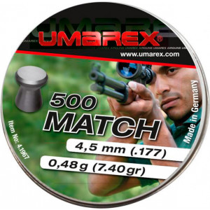Balines UMAREX Match 4.5 mm 0.48 g