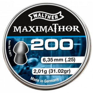 Balines WALTHER MaximaThor 6.35 mm