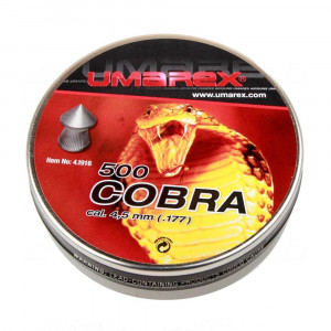 500 balines UMAREX Cobra 4.5 mm 0.50 g