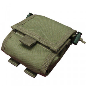 Bolsa de descarga CONDOR MA36 Roll-Up verde