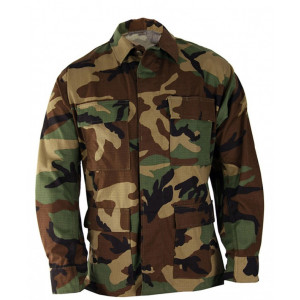 Camisa PROPPER Genuine Gear BDU camo Woodland