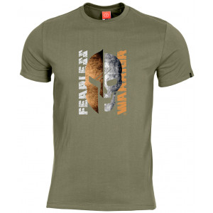 Camiseta PENTAGON Fearless Warrior verde