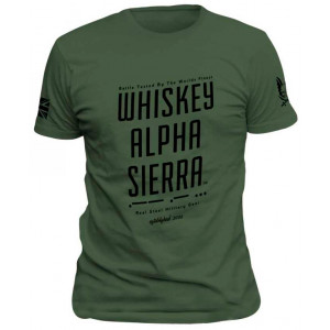 Camiseta WARRIOR ASSAULT WAS verde