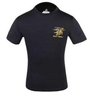 Camiseta Navy SEALS EMERSON negra