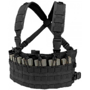 Chaleco Chest Rig CONDOR Rapid Assault MCR6 negro