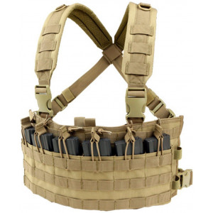 Chaleco Chest Rig CONDOR Rapid Assault MCR6 coyote