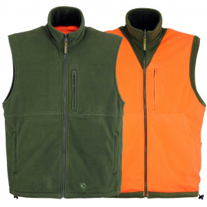 Chaleco polar reversible GAMO Duo-Fleece