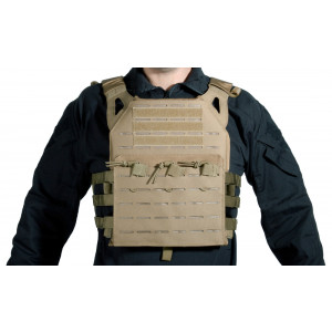 Chaleco DELTA TACTICS Plate Carrier LC Coyote