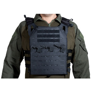 Chaleco DELTA TACTICS Plate Carrier LC Negro