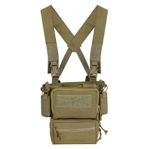 Chaleco Mini Rig SWISS ARMS coyote
