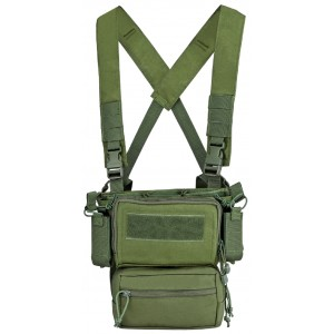 Chaleco Mini Rig SWISS ARMS verde
