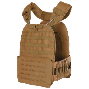 Chaleco portaplacas MFH Tactical Coyote